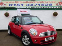 2009 MINI HATCH COOPER 1.6 COOPER D 3d 108 BHP £4599.00