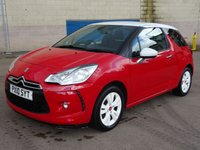 USED 2010 10 CITROEN DS3 1.6 DSTYLE 3d 120 BHP SERVICE RECORDS +  MOT 08/11/2018 +  CRUISE CONTROL +   AUX CONNECTION +