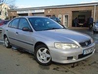1998 HONDA ACCORD 2.0 2 4d 147 BHP £695.00