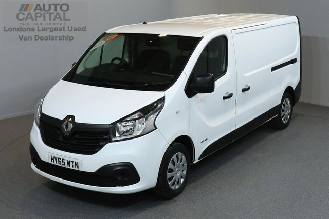 2015 65 RENAULT TRAFIC 1.6 LL29 BUSINESS DCI S/R P/V 5d 115 BHP LWB FWD ECO DRIVE POWER WINDOW, MIRROR