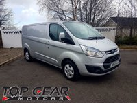 2015 FORD TRANSIT CUSTOM 290 2.2 125 BHP LIMITED L2 H1 **70 VANS IN STOCK** £10950.00
