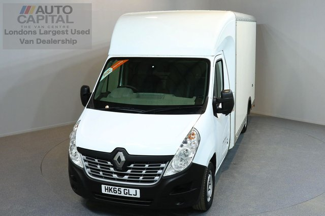 2015 65 RENAULT MASTER 2.3 LL35 BUSINESS DCI L/R LUTON 4d 125 BHP LWB FWD ELECT. WINDOWS MIRRORS LUTON VAN ONE OWNER FROM NEW