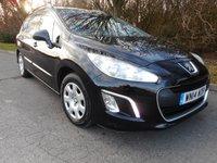 2014 PEUGEOT 308 1.6 E-HDI SW ACCESS 5d AUTO 115 BHP £SOLD