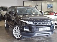 USED 2013 13 LAND ROVER RANGE ROVER EVOQUE 2.2 SD4 PURE TECH 5d AUTO 190 BHP PAN ROOF+SAT NAV+MERIDIAN+FSH