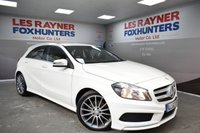 2013 MERCEDES-BENZ A CLASS 1.5 A180 CDI BLUEEFFICIENCY AMG SPORT 5d 109 BHP £13499.00