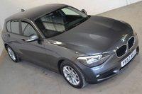2013 BMW 1 SERIES 1.6 116D EFFICIENTDYNAMICS 5d 114 BHP £9990.00