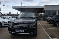2012 LAND ROVER RANGE ROVER 4.4 TDV8 WESTMINSTER 5d AUTO 313 BHP £23495.00