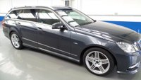 2012 MERCEDES-BENZ E CLASS 3.0 E350 CDI BLUEEFFICIENCY S/S SPORT 5d AUTO 265 BHP £13000.00