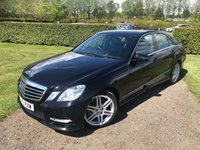 2013 MERCEDES-BENZ E CLASS 2.1 E250 CDI BLUEEFFICIENCY SPORT 4d AUTO 204 BHP FMBSH!! MOT 02/19 £11849.00
