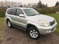 2006 TOYOTA LAND CRUISER 3.0 LC5 8-SEATS D-4D 5d AUTO 164 BHP Full Toyota History ONE Owner! £10495.00