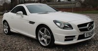 USED 2014 63 MERCEDES-BENZ SLK 2.1 SLK250 CDI BLUEEFFICIENCY AMG SPORT 2d AUTO 204 BHP