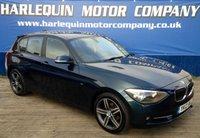 2012 BMW 1 SERIES 2.0 116D SPORT 5d 114 BHP £7490.00