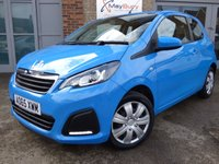 USED 2015 65 PEUGEOT 108 1.0 ACTIVE 3d 68 BHP ONE OWNER FREE ROAD TAX AND LOW INSURANCE