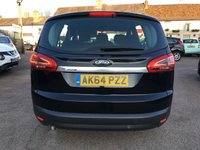 USED 2014 64 FORD S-MAX 1.6 ZETEC TDCI S/S 5d LOW MILEAGE AND ONE PRIVATE OWNER FROM NEW ONE  NO DEPOSIT  PCP/HP FINANCE ARRANGED, APPLY HERE NOW