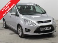 USED 2014 64 FORD GRAND C-MAX 2.0 ZETEC TDCI 5d AUTO 138 BHP 1 Owner, Full Service History,Bluetooth,Air Con