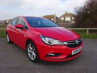 2016 VAUXHALL ASTRA 1.0 SRI ECOFLEX S/S 5 Dr 104 BHP, 1 OWNER, RED £9995.00