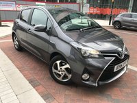2016 TOYOTA YARIS 1.5 VVT-I ICON M-DRIVE S 5d AUTO 73 BHP £11990.00