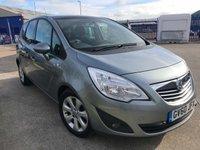 2011 VAUXHALL MERIVA 1.7 SE CDTI 5d AUTO 99 BHP £SOLD