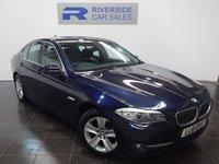 2011 BMW 5 SERIES 2.0 520D EFFICIENTDYNAMICS 4d 181 BHP £10000.00