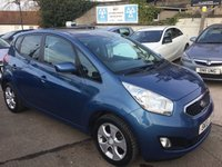 USED 2013 13 KIA VENGA 1.6 3 SAT NAV CRDI ECODYNAMICS 5d 114 BHP 1 LADY OWNER FROM NEW WITH FULL DEALER HISTORY