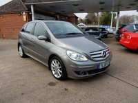 USED 2008 08 MERCEDES-BENZ B CLASS 2.0 B180 CDI SE 5d AUTO 108 BHP SERVICE HISTORY,TWO KEYS,PARK AID FRONT AND REAR,SUNROOF