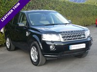 USED 2013 63 LAND ROVER FREELANDER 2.2 TD4 GS 5d 150 BHP 4X4