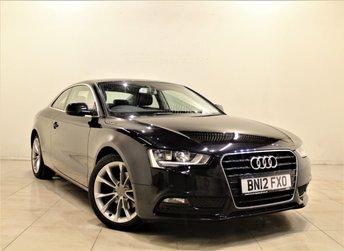 2012 AUDI A5 2.0 TDI SE TECHNIK 2d AUTO 174 BHP £12299.00