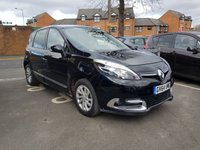 USED 2015 64 RENAULT SCENIC 1.5 DYNAMIQUE TOMTOM ENERGY DCI S/S 5d 110 BHP CHEAP TO RUN AND GOOD SPECIFCIATION WITH SATELLITE NAVIGATION AND LEATHER TRIM!..EXCELLENT FUEL ECONOMY!..LOW CO2 EMISSIONS..£20 ROAD TAX..FULL HISTORY..ONLY 18720 MILES FROM NEW!!