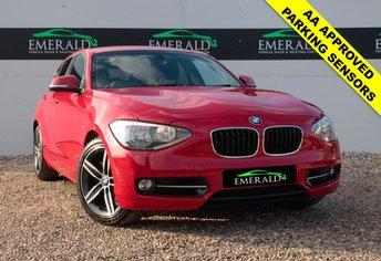 2012 BMW 1 SERIES 1.6 118I SPORT 5d 168 BHP £8700.00
