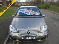 2007 MERCEDES-BENZ A CLASS 2.0 A180 CDI AVANTGARDE SE 5d AUTO 108 BHP £3499.00