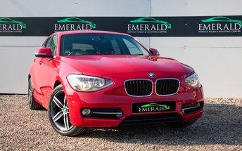 2011 BMW 1 SERIES 2.0 118D SPORT 5d 141 BHP £8650.00