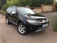 2007 MITSUBISHI OUTLANDER 2.0 INTENSE ELEGANCE H-LINE DI-D 5d 139 BHP PLEASE CALL TO VIEW £SOLD