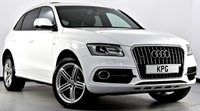 USED 2013 62 AUDI Q5 2.0 TDI S Line Plus S Tronic Quattro (s/s) 5dr  Pan Roof, Heated Leather, Nav