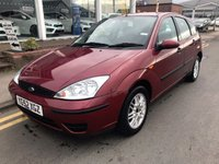 USED 2002 52 FORD FOCUS 1.6 LX 5d 99 BHP