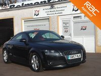 USED 2007 57 AUDI TT 2.0 TFSI 3d 200 BHP Premium Coupe with 17 inch alloys  air conditioning and a full red leather interior