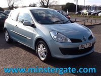 2007 RENAULT CLIO 1.1 RIP CURL 16V 3d 75 BHP * 79000 MILES, FULL HISTORY * £1990.00