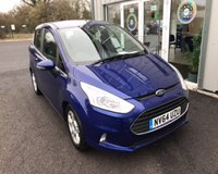 USED 2015 64 FORD B-MAX 1.4 ZETEC THIS VEHICLE IS AT SITE 1 - TO VIEW CALL US ON 01903 892224
