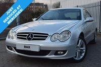 USED 2005 MERCEDES-BENZ CLK 2.1 CLK220 CDI AVANTGARDE 2d 148 BHP FANTASTIC 10 STAMP FSH WITH 8 MERCEDES SERVICES! STUNNING CONDITION! 4 MATCHING CONTINENTAL TYRES!