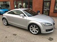 USED 2006 56 AUDI TT 2.0 TFSI 3d 200 BHP Full service history, New timing belt kit just fitted,      Full leather upholstery,       Electric/Heated front seats,       Satellite Navigation,       Deployable rear spoiler