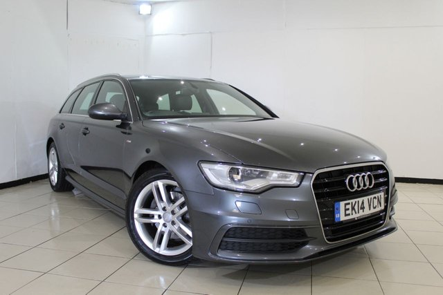 View our 2014 14 AUDI A6 2.0 AVANT TDI ULTRA S LINE 5DR AUTOMATIC 188 BHP