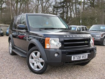 2008 LAND ROVER DISCOVERY 2.7 3 TDV6 HSE 5d AUTO 188 BHP £10990.00