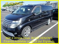 2002 NISSAN ELGRAND Rider Autec 3.5 4 Wheel Drive Automatic 8 Seats Full Leather  £6000.00