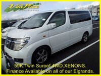 2003 NISSAN ELGRAND 3.5 X Auto 8 Seat, 4 Wheel Drive, Twin Sunroof,  £5500.00