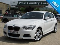 USED 2013 63 BMW 1 SERIES 1.6 116I M SPORT 3d 135 BHP Low Running Costs With A Good Specification