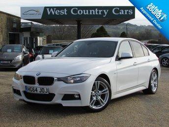 2015 BMW 3 SERIES 2.0 320D M SPORT 4d 181 BHP £16500.00
