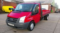 2012 FORD TRANSIT 2.4 350 DRW 1d 115 BHP DROP SIDE 1 OWNER F/S/H 2 KEYS \ FREE 12 MONTHS WARRANTY COVER // £6990.00