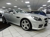 2011 MERCEDES-BENZ SLK 3.5 SLK350 AMG SPORT ED125 BLUEEFFICIENCY AUTO £16875.00