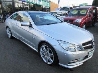 2012 MERCEDES-BENZ E CLASS 2.1 E250 CDI BLUEEFFICIENCY SPORT ED125 2d AUTO 204 BHP £14000.00