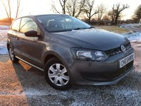 2011 VOLKSWAGEN POLO 1.2 S 3d 2 FORMER KEEPERS £4275.00