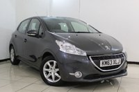 USED 2014 63 PEUGEOT 208 1.4 ACTIVE HDI 5DR 68 BHP SERVICE HISTORY + BLUETOOTH + CRUISE CONTROL + MULTI FUNCTION WHEEL + AIR CONDITIONING + 15 INCH ALLOY WHEELS